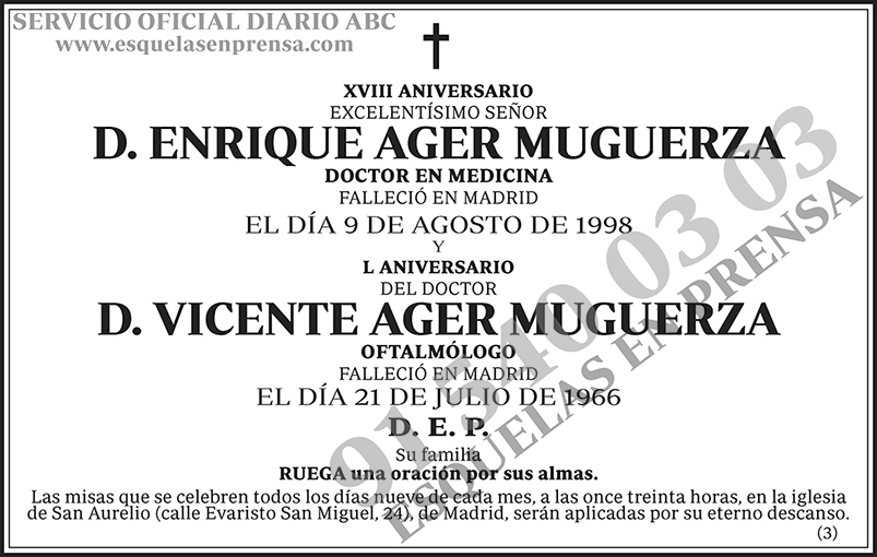 Enrique Ager Muguerza